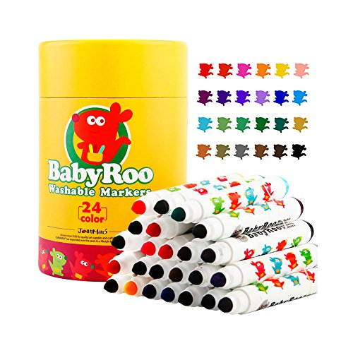 huluwa-markers-painting-drawing-children-makers-set-easy-to-clean-washable-non-toxic-safe-for-toddle