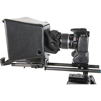 amazon com datavideo tp 500b prompter kit for dslr cameras beauty