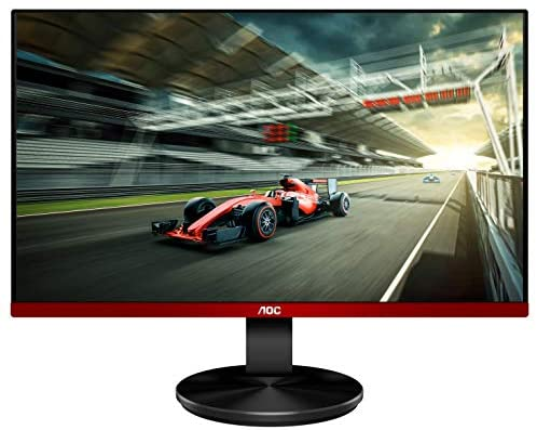 "AOC G2490VX 24"" Class Frameless Gaming Monitor, FHD 1920x1080, 1ms 144Hz, UnfastenedSync Premium, 126% sRGB / 93% DCI-P3, 3Yr Re-Spawned Zero Dead Pixels, Black"