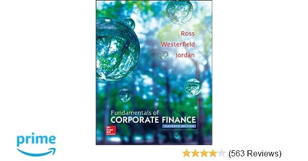 fundamentals of corporate finance 9780077861704 economics books