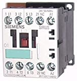 Siemens SIE 3RT1017-1AB02 Contactor, 5.5 KW, 400 V, 1 NC, 24 VAC, 50/60Hz, 3-Pole, Size S00, Screw Connection