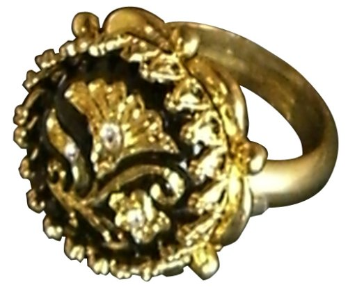 Pirates Of The Caribbean / At World's End - Replica: Jack Sparrow Button Ring