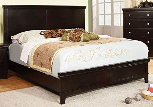 Wooden Bed with Tall Head Board (Cal. King - 89.5 in. L x 78.38 in. W x 52 in. H)