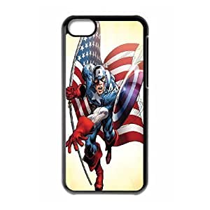 Custom High Quality WUCHAOGUI Phone case Caption American Pattern Protective Case For Iphone 5c - Case-5