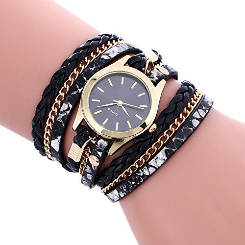Womens+Bracelet+Watches+COOKI+on+Sale+Clearance+Lady+Watches+Female+watches+Cheap+Watches+for+Women-Q3+%28Black%29