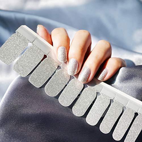 Color Lab 2019 Summer 22PCS ADHESION Nail Art Transfer Decals Sticker Multicolor Series DIY Nail Polish Strips,Nail Wraps, 100% Real Nail polish applique for Manicure,BC002 Dreamland (Best Nail Colors Summer 2019)
