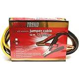 Motor Trend MT1212 12-Foot Jumper Cables, 100-Percent Copper