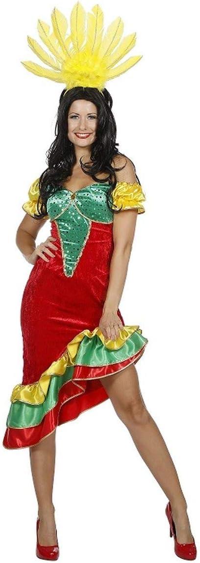 Wilbers Disfraz de Samba para Mujer: Amazon.es: Juguetes y juegos