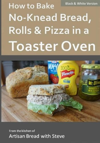 How to Bake No-Knead Bread, Rolls & Pizza in a Toaster Oven (B&W ...