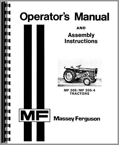Massey Ferguson MF 205 205-4 Diesel Compact Operators (Massey Ferguson Factory)
