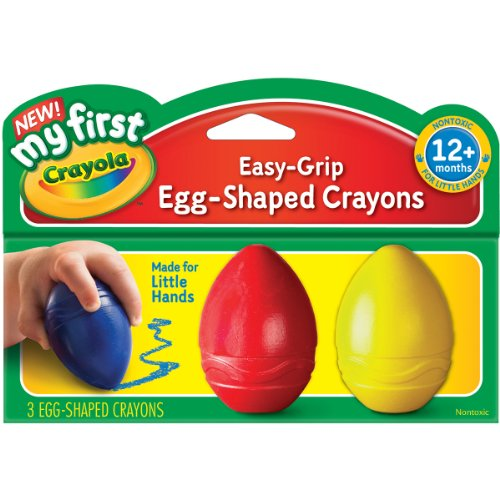 Crayola My First Crayola Scribbled Egg Crayons