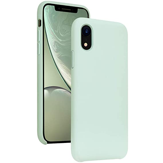 size 40 7168a 8958b DIACLARA iPhone XR Case Silicone, 6.1'' Hybrid Gel Rubber Liquid Silicone  Cases Classic Bumper Shockproof Drop Protective Cover for Apple iPhone ...