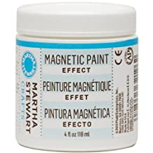 Martha Stewart Crafts Magnetic Paint (4-Ounce), 32196