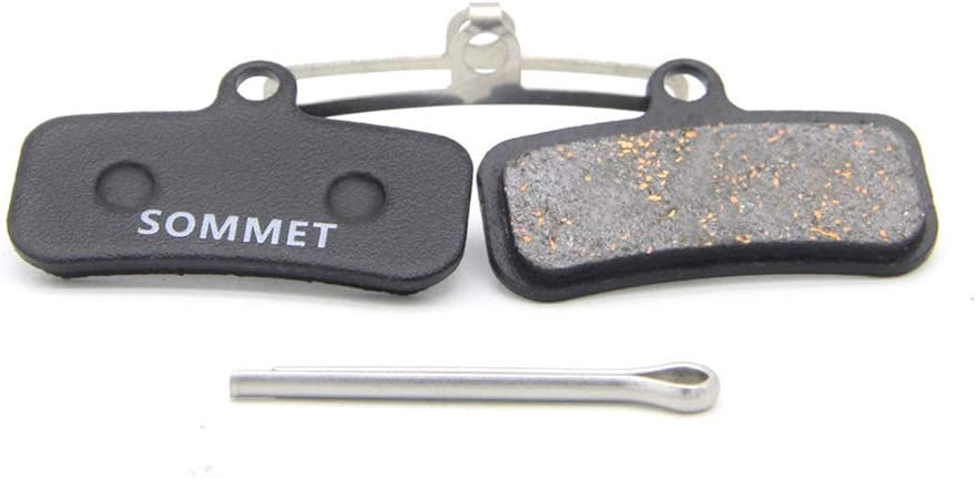 SOMMET Resin and Semi-Metallic Disc Brake Pads fit for Shimano Saint BR-M810 M820 Zee BR-M640 ZSPB19-1