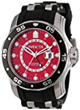 Invicta Men's 6989 Pro Diver Collection GMT Stainless Steel Black Rubber Watch