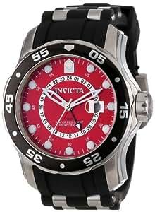 Invicta 6989 - Reloj analógico de caballero de cuarzo con correa de goma negra