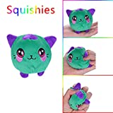 Makeupstore Squeeze Toys Stress Relief,Furry Squishies Cat Scented Stuffed Slow Rising Toys Stress Relief Toy Hop Props