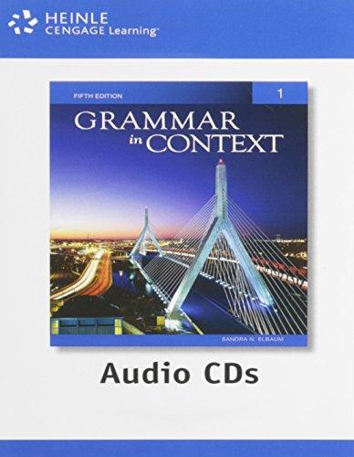 Grammar in Context 1: Audio CDs (2) (Grammar Cd)