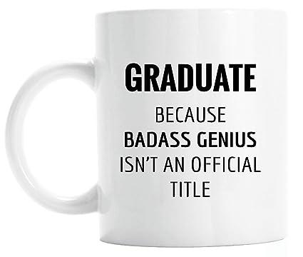 Amazon Funny Graduation Gift For Him Graduate Genius Mug