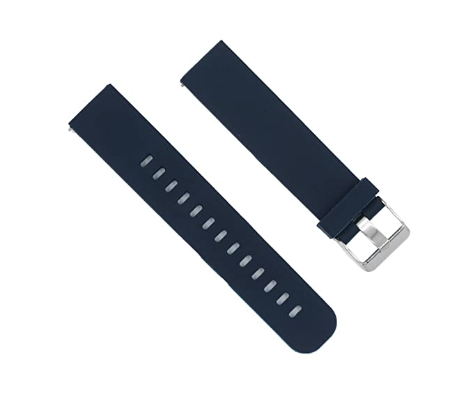 Amazon.com: 22mm Replacement Sports Soft Silicone Watch Band ...