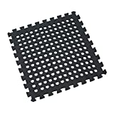 Clevr EVA Foam Flooring Interlocking Mat w/ drain holes 96 sq ft
