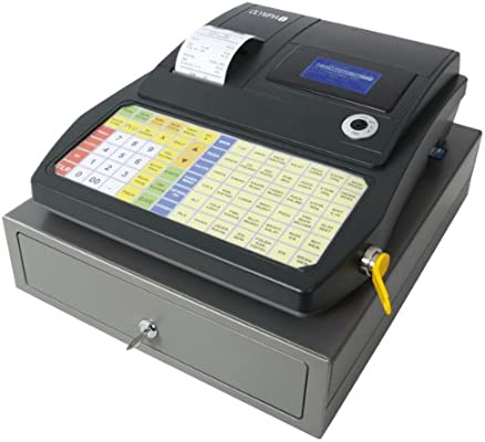 Caja registradora 941F de Olympia, antracita, 941 OLYMPIA: Amazon ...