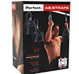 Perfect Ab Strap Pull Up Bar Attachment. Abdominal Crunch Workout Add On Pullup