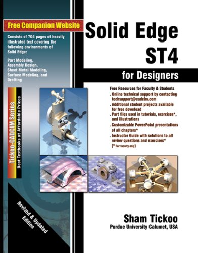 Download Solid Edge ST4 for Designers Pdf