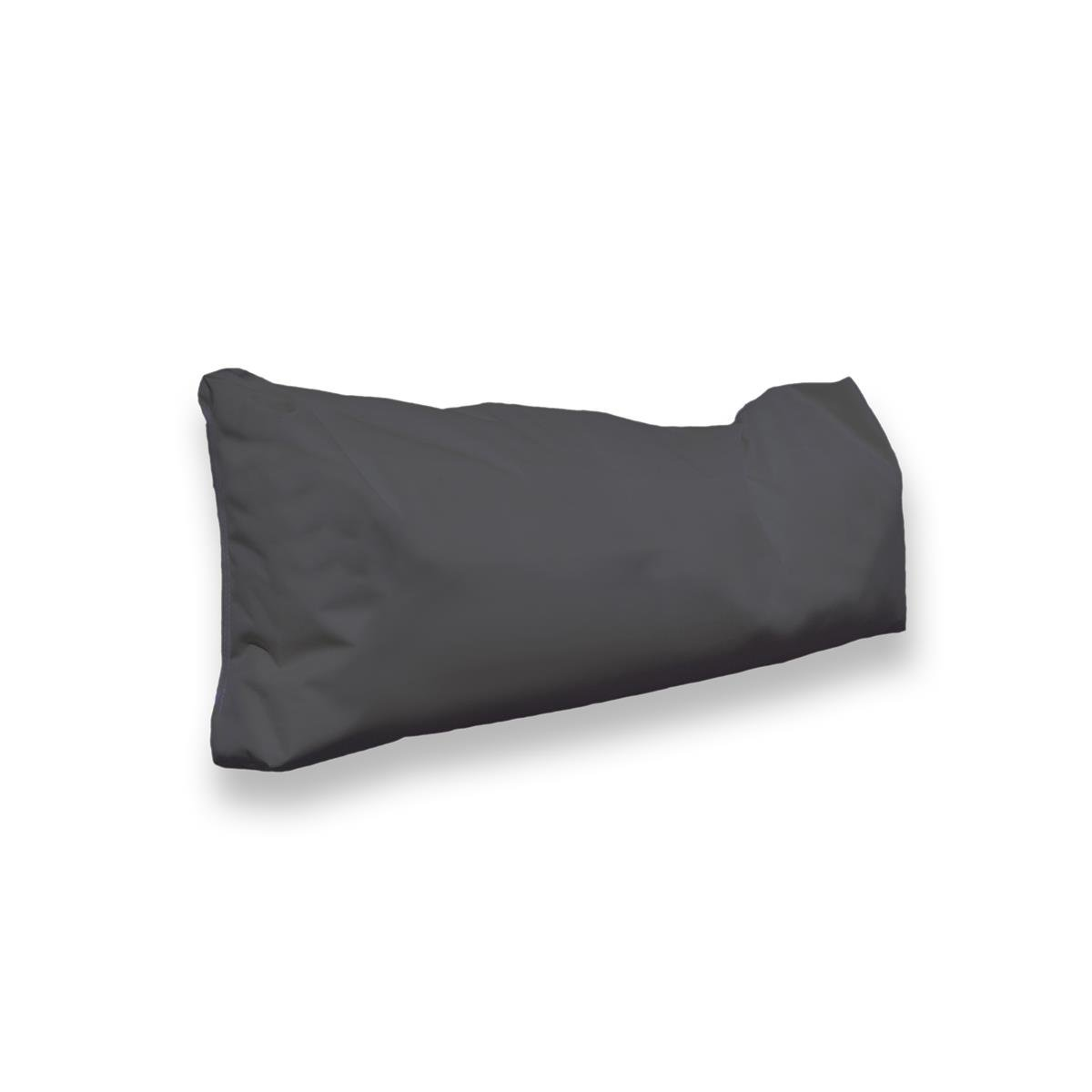 Berlinpillow  4260406163778 Original Bean Bag In und Outdoor PalettenRückenkissen Pallets Bag, 160 x 30 x 10 cm, anthrazit