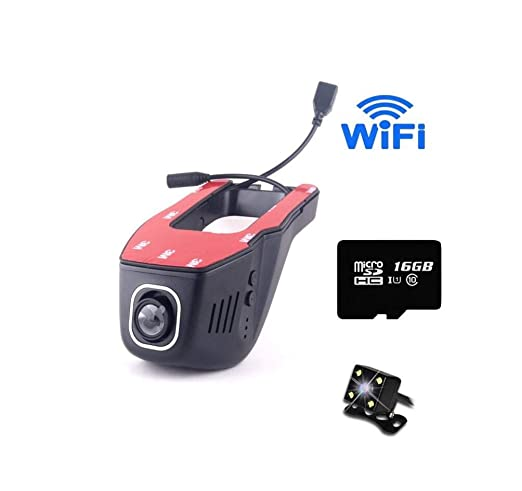ACZZ Dash Cam Wifi 1080P Fhd Car Video Dashboard Cámara G ...