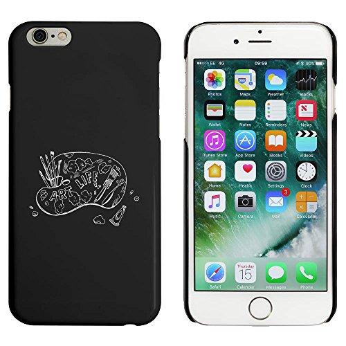 Noir 'Peinture Palette' étui / housse pour iPhone 6 & 6s (MC00044061)