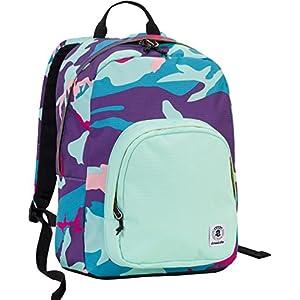 7e770bf4c3 ZAINO INVICTA – OLLIE PACK – Camouflage Rosa Viola Azzurro Rosso – tasca  porta pc padded – scuola e tempo libero americano 25 LT