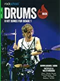 Rockschool: Hot Rock Drums - Grade 1 (Book/Online Audio)