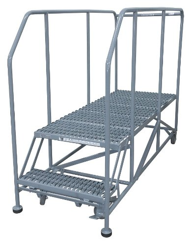 Cotterman - 2WP3660RA3B4B8AC1P6 - Rolling Work Platform, Steel, Single Access Platform Style, 20 Platform Height
