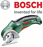 Bosch XEO Cordless Universal Cutter (c/w Blade + Charger + Bosch Carry Bag) (and c/w STANLEY KeyTape (image shown) + Cadbury Chocolate Bar)
