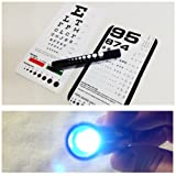 EMI Rosenbaum AND Snellen Pocket Eye Charts + LED Penlight - 3 Piece Set!