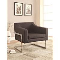 Modern Accent Arm Chair in Gray