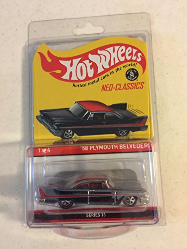 3000 Made Diecast Model - Hot Wheels 2015 Neo-Classics '58 Plymouth Belvedere Series 13 (1/4) (Only 3000 Made)