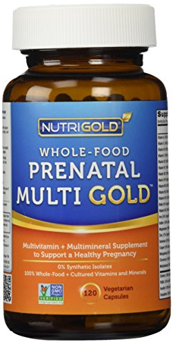 Organic Whole Food Prenatal Vitamins - Prenatal Multi Gold -