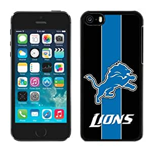 Personalized Gift Special Iphone 5c Case NFL Detroit Lions 12 Team Newest Design Sports Cellphone Protector