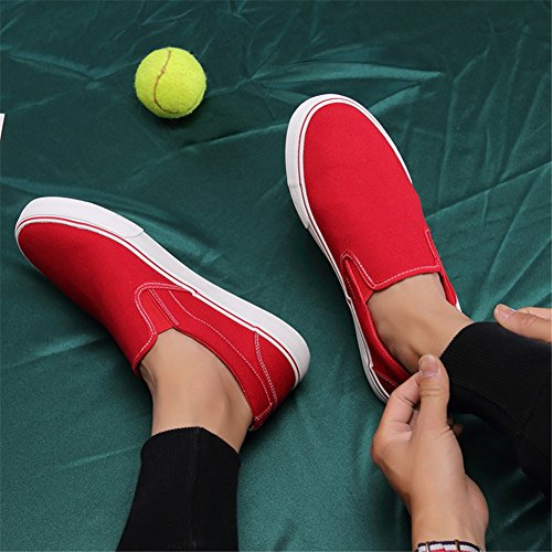 in uomo Sport Scarpe Casual e autunno mocassini Running Outdoor tela traspirante Sneakers ciabatte Comfort B da piatto Primavera 4qqw1Fx