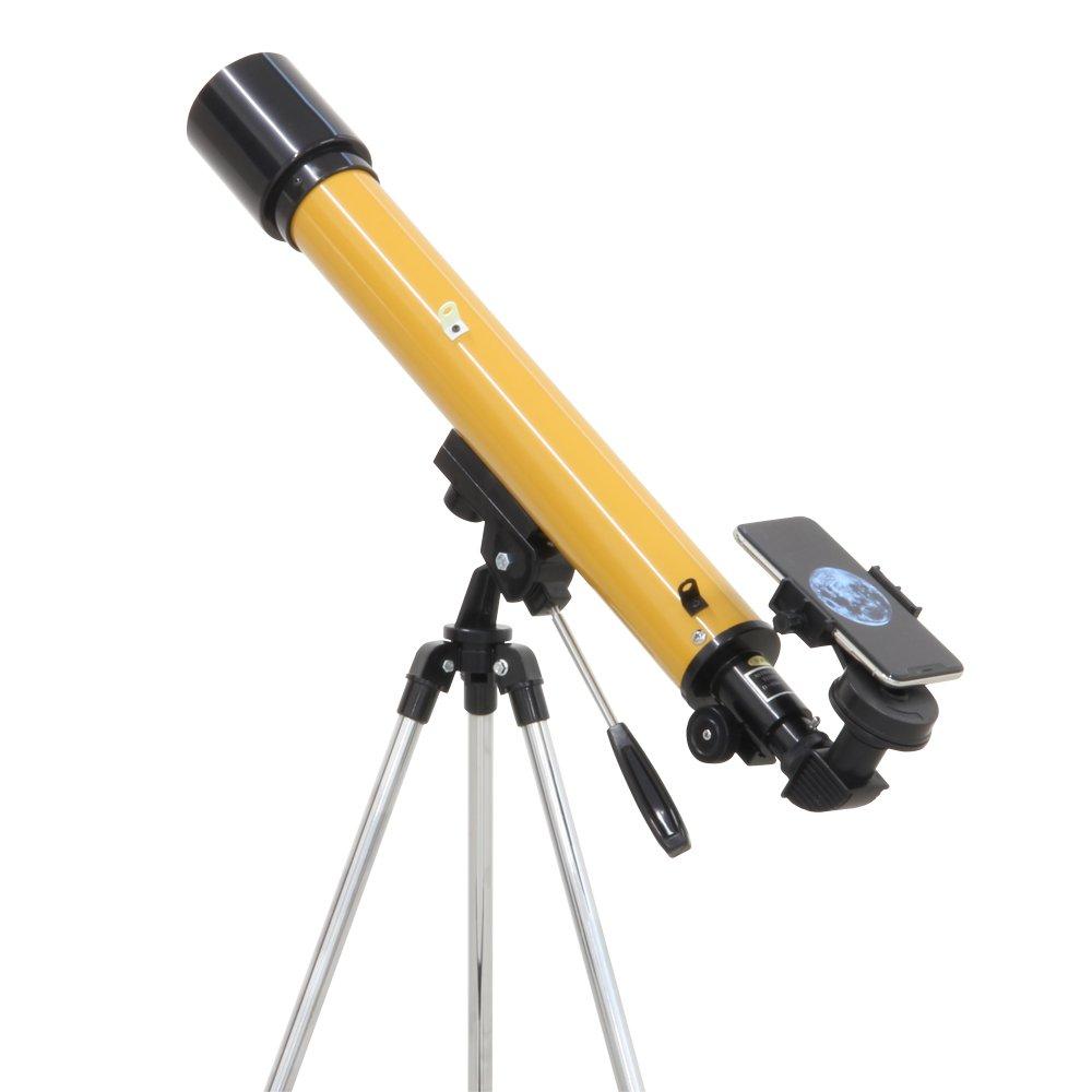 1位.池田レンズ工業 天体望遠鏡  レグルス60 スマホ撮影セット 日本製 口径60mm