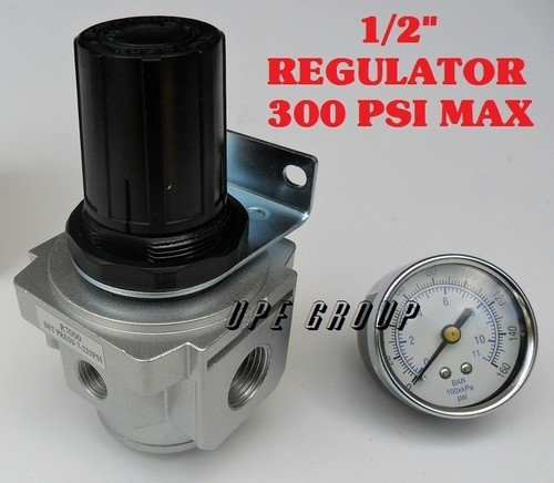 - Air Pressure Regulator for compressor compressed air 1/2