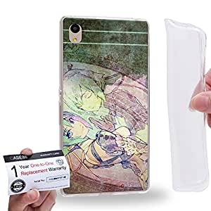 Case88 [Sony Xperia Z3+ / Z4] Gel TPU Carcasa/Funda & Tarjeta de garantía - Aquarion Evol Zessica Wong 1634