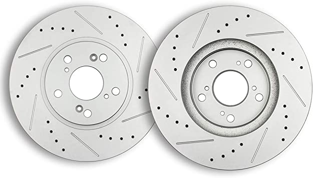 TSX Set MDX For Acura CL Based on Fitment Chart Front Brake Rotors TL