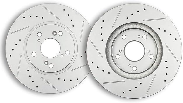 Front Drill /& Slot Brake Rotors For Acura CL TL MDX Honda Accord Odyssey Pilot