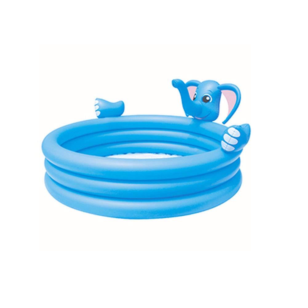 - YL-light Piscina Inflable azul Colors Bola de los niños Pit Summer Water Play Pool Niños en Forma de Elefante