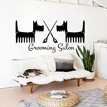 Amazon.com: Wall Decals Dog Grooming Salon Decal Vinyl Sticker Pet on retirement dogs, law dogs, school dogs, new york dogs, home defense dogs, home security dogs, food dogs, health dogs, baby dogs, pets dogs, animals dogs,