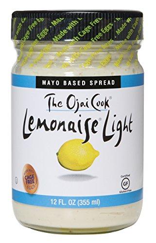 The Ojai Cook Lemonaise, Light, 12 Ounce (Pack of 6)