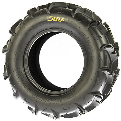 SunF Warrior AT-Mud & Trail ATV/UTV Off-Road Tires (26x9-12 Front & 26x11-12 Rear) , 6 PR (Full Set of 4)|A048 by SunF (Image #6)